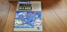 Mosaic in A Box for Windows 95 Sealed New Fast Shipping.