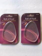 BALL OF FOOT GEL CUSHIONS FOR HIGH HEELS