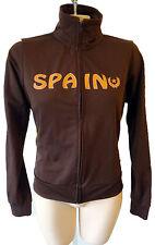 SPAIN vintage track jacket flag patch suit running yoga spanish crest gym decal