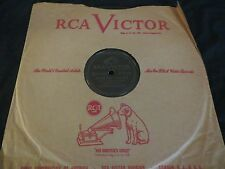 78RPM RCA Victor 27411 Artie Shaw, Blues Parts 1 and 2 V