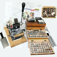 Great Lk Sle Hot Printer 800 Foil Imprinting Machine Hot Stamping Made N Usa