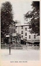 RPPC,Eton College,Windsor,U.K.Keat's House,c.1909