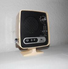 Vintage-Design-Rollzahlen-Klappzahlen-Uhr-Tischuhr-Radio Clock-TEC FT-008-top