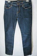 VIGOSS STUDIO THE JAGGER SUPER SKINNY Womens Jeans Size 7/8 29 Dark Wash