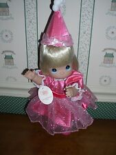 """PRECIOUS MOMENTS 12"""" DOLL-BIRTHDAY BLESSINGS-BLONDE-NEW"""