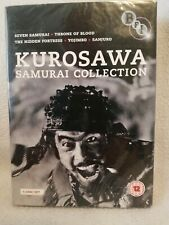 Kurosawa Samurai collection PAL Region 2 Dvd