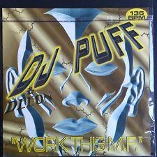 "DJ Puff / DJ Deeon – Work This M.F. (Vinyl, 12"", MAXI 45 TOURS)"