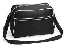 Bagbase Retro Shoulder Bag Messenger Travel Shoulder Bag Gym School Work (BG14)