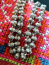 Old Tibetan / North India Silver Necklace Chain …beautiful unisex accent piece
