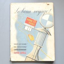 ✇ SHELL AUTOATLAS FRANKREICH 1939 - Routen mit 22 Karten
