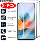 3Pcs For Xiaomi Redmi Note 10 9S 9 9T 8 8T 7 Pro Tempered Glass Screen Protector