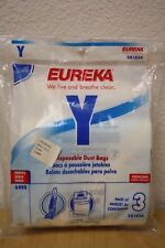 3-Pack Eureka Vacuum Disposable Bags Y  58183A Carpet Cleaner House Brand New