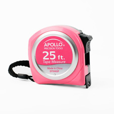 25 ft. Tape Measure in Pink, Valentines Day Gift
