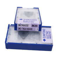 SUMITOMO * 3NC-TNGA160408 BNC200 / 3NC-TNGA332 BNC200 * CBN Carbide Inserts 1Pcs