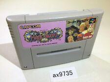 ax9735 Magic Sword SNES Super Famicom Japan