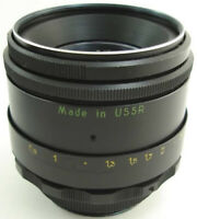 ⭐PERFECT Con.⭐ 1981! HELIOS 44-2 58mm f/2 Russian USSR Lens Screw Mount M42 Fuji