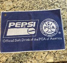 Pepsi & PGA Golf Towel