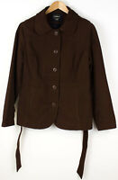L.L.Bean Damen Kragen Regular Mantel Jacke Größe L AGZ929