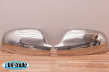 1Set Edelstahl Spiegel Kappen V2A Chrom für Peugeot 307 407 Xsara