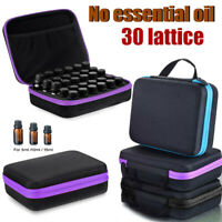 30 Bottle 5-15ML Essential Oil Storage Organizer Carrying Travel Case Container