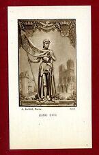 SANTINO SANTA GIOVANNA D'ARCO  IMAGE PIEUSE - HOLY CARD-  Heiligenbild