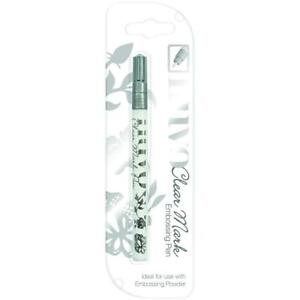 Crafts Nuvo Clear Mark Embossing Pen Ideal Use with Powders