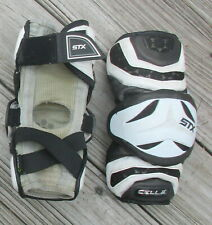 USED STX CELL II LACROSSE ARM ELBOW PADS ~ SIZE Sr S ~ LAX
