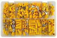 Connect Assorted Yellow Terminals Box of 110 - 31852
