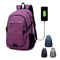 Smart School Business Travel Large Capacity USB Charging Backpack Laptop Bag
