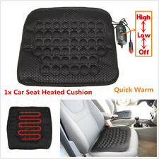 1x Universal 12V Car Seat Heated Heater Cushion Cover Warmer Pad Quick Warm Seat