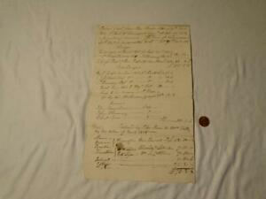 1816 Peter Shaw FISHGUARD BAY letter Accounts CROWN /GR Watermark #F44