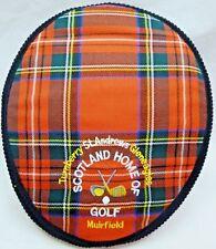 St. Andrews Scotland-Turnberry-Muirfi eld-Gleneagles-Mens Golf Hat-Made in Scot.
