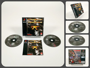 COMMAND & CONQUER   SONY Playstation 1 PS1 Game   Westwood 1995 PAL