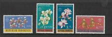 1962 Orchids Surtaxed  set of 4 Complete MUH/MNH as Issued