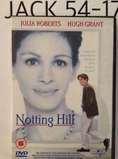 NOTTING HILL DVD JULIA ROBERTS HUGH GRANT CLASSIC BRITISH ROMANTIC COMEDY