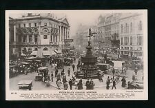 LONDON Piccadilly Circus busy scene 1900/10s? Beagles RP PPC