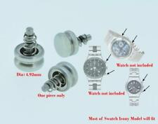 Chronograph Push Pusher Button Crown Fit Swatch Irony Chrono Watch Spare Parts