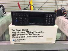 BLAUPUNKT PORTLAND CM85 FM/AM/CASSETTE RECEIVE W/ DETACHABLE FACE BRAND NEW!