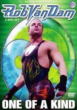 WWE Rob van Dam One of a Kind 2 DVDs Orig WWF Wrestling