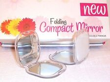 1 Double-sided folding compact pocket,make up/purse/mirror Regular / magnifying