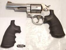 S&W Logo Factory Stock Rubber Gun Grip by Hogue K/L Frame 10 15 19 64 66 686 RB