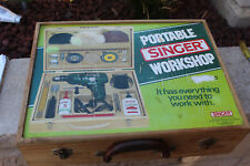 portable singer workshop tool box