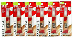 CoverGirl Outlast All-Day Soft Touch Liquid Concealer 860 Deep .34 oz. Lot of 6