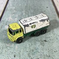 VINTAGE MATCHBOX LESNEY MOKO 1-75 BEDFORD BP PETROL TANKER No 25 NO BOX