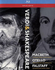 Verdi: Shakespeare Operas [Box Set] [Blu-ray], New DVDs