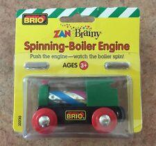 33230 Brio Wooden Train Zany Brainy Spinning Boiler Engine! Thomas! RARE