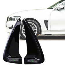 Exterior Shark Side Fender Cover Gloss Piano Black Decoration Euro Vehicle