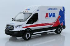 2019 Ford Transit AMR Ambulance EMT Medical Van 1:64 Scale Diecast Model Truck