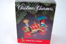 1991 Santa's Best Christmas Charmer Ornament North Pole Express - NIB