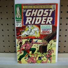 Ghost Rider 6 October 1967 7.5 VF- Small tape grab on back cover